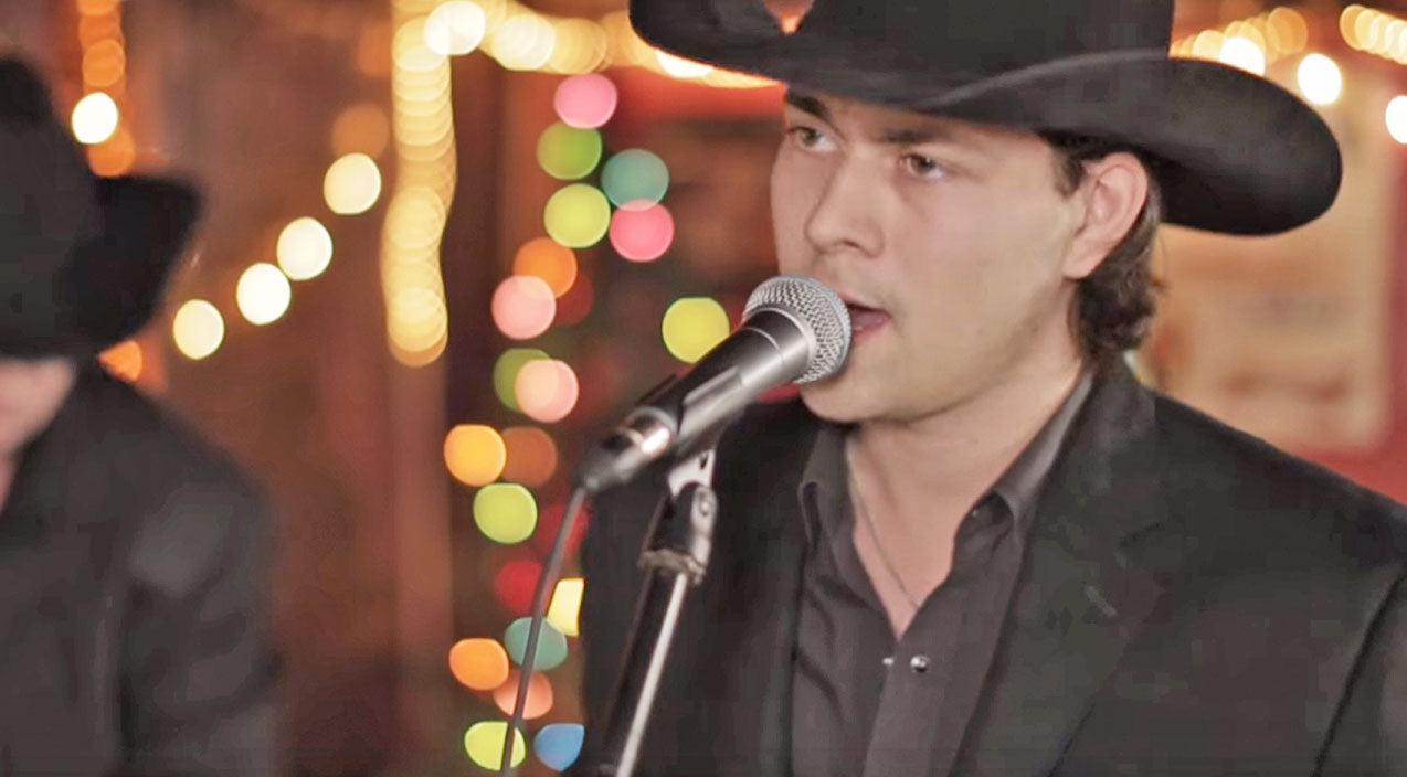 William michael morgan Songs | Listen To This Singing Cowboy Give 'White Christmas' A Classic Country Makeover | Country Music Videos
