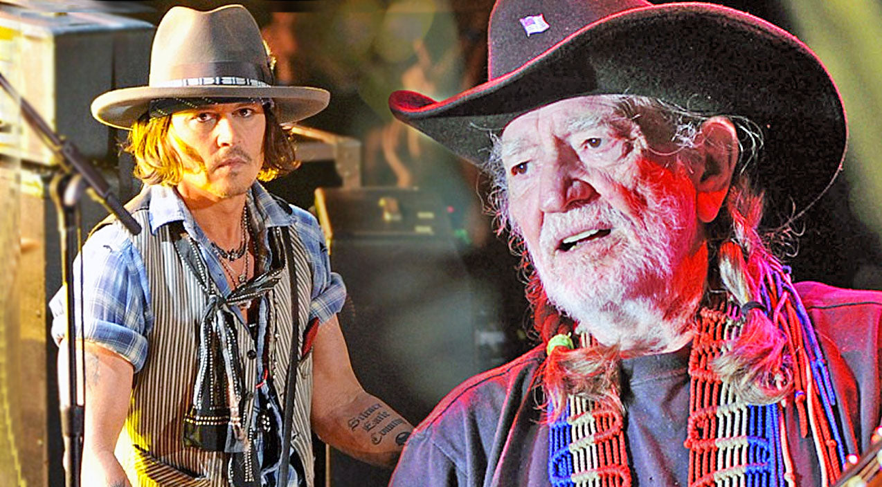 Willie nelson Songs | Willie And Lukas Nelson Break Hearts With Johnny Depp In Stunning Classic Country Performance | Country Music Videos
