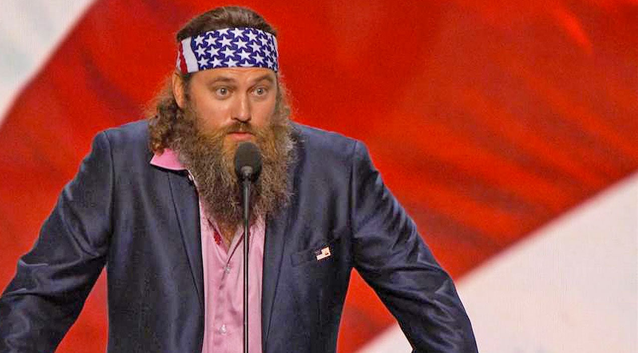 Willie robertson Songs | Willie Robertson Says 'America Is In A Bad Spot' During Republican National Convention Speech | Country Music Videos