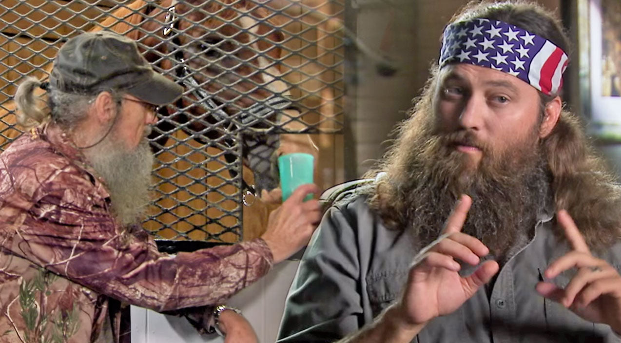 Willie robertson Songs | Is Duck Dynasty's Si Robertson A Horse Whisperer? (Funny!) | Country Music Videos