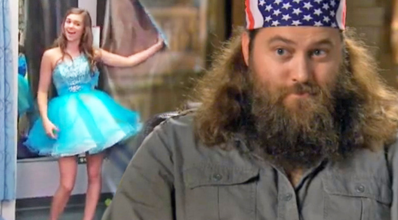 Willie robertson Songs | Willie Robertson Takes His Daughter On A Hilarious Dress Shopping Mission (WATCH) | Country Music Videos