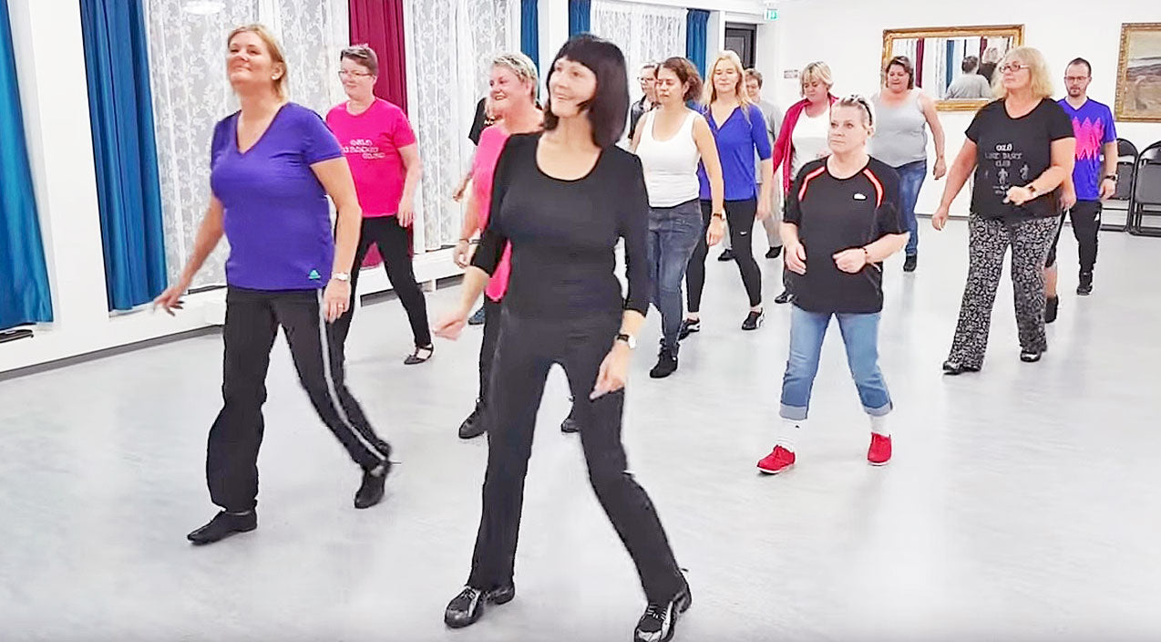 Line dance Songs | Hit The Town With Moves You Learn In Line Dance To George Strait's 'Write This Down' | Country Music Videos