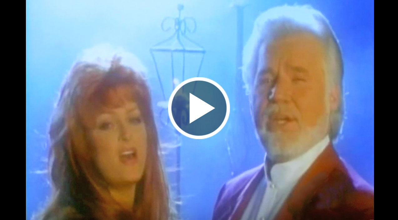 Kenny rogers amp wynonna judd angelicly sing mary did you know in virt