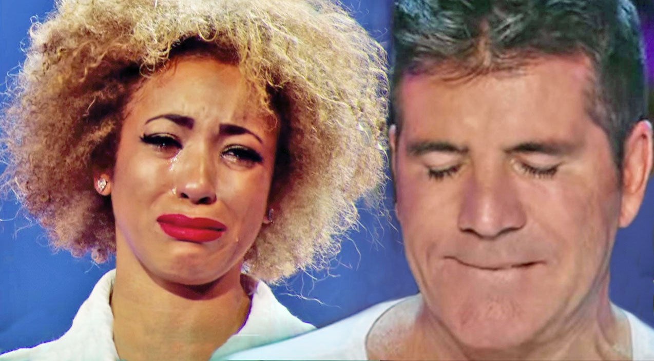 X-Factor Singer Breaks Down During Emotional Performance Of