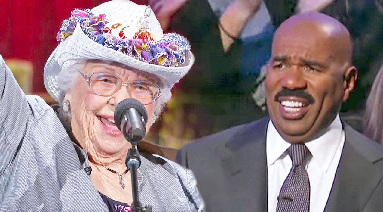 Steve harvey Songs | Yodeling Grandma Has Steve Harvey Crackin' Up With Spunky Country Performance | Country Music Videos