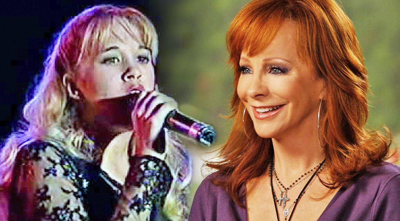 Reba mcentire Songs | RARE: 13-Year-Old Carrie Underwood Covers Reba In Jaw-Dropping Recording | Country Music Videos