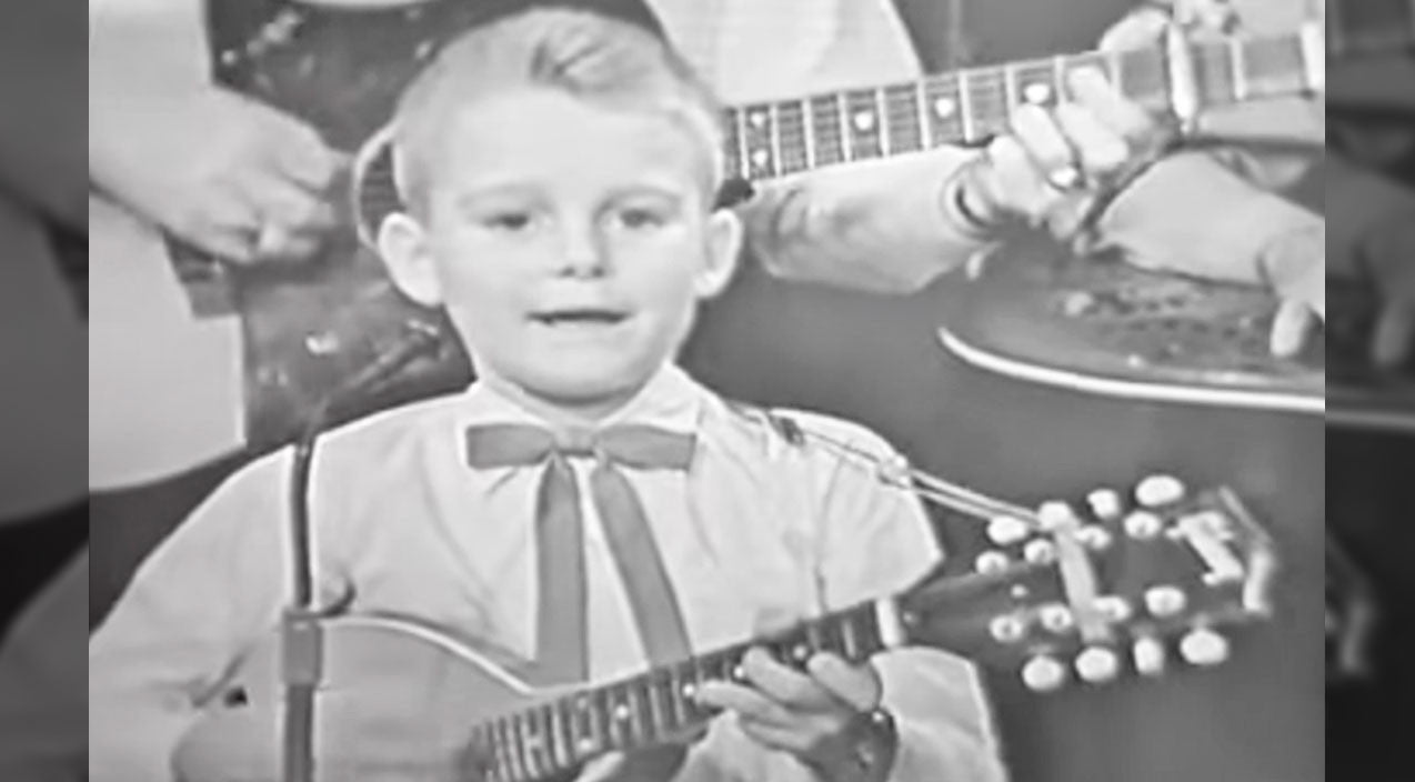 Ricky skaggs Songs | This Rare Footage Of An Adorable 7-Year-Old Ricky Skaggs Will Take Your Breath Away | Country Music Videos