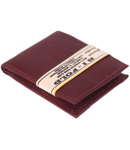Chestnut Leather Bi-Fold Wallet