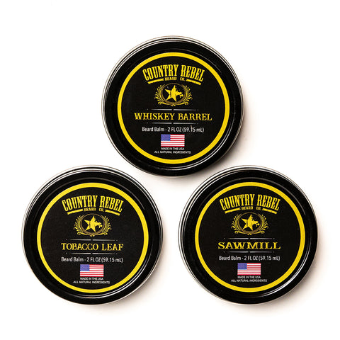 Beard Balms - All 3 Scents
