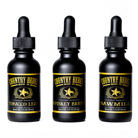 Beard Oils - All 3 Scents