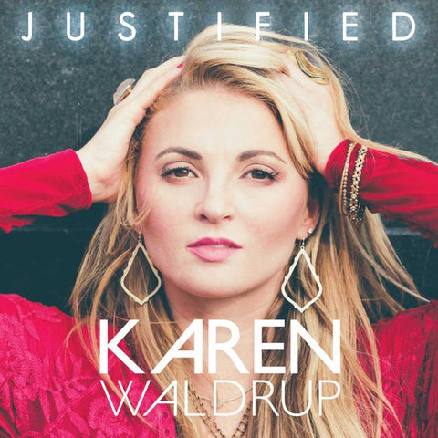 Justified - Karen Waldrup (Autographed CD)