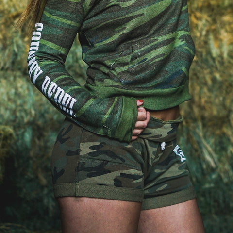 Lounge Camo French Terry Shorts