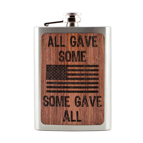 All Gave Some Some Gave All Flask