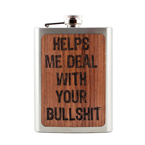 Helps Me Deal Flask