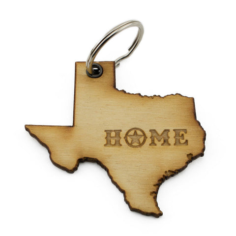 Texas Home Keychain