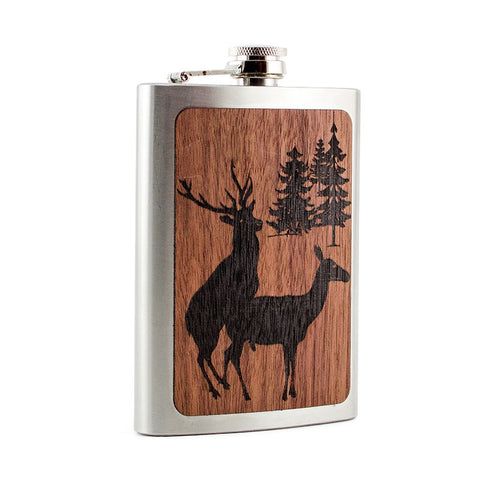 Buckin' Around Flask