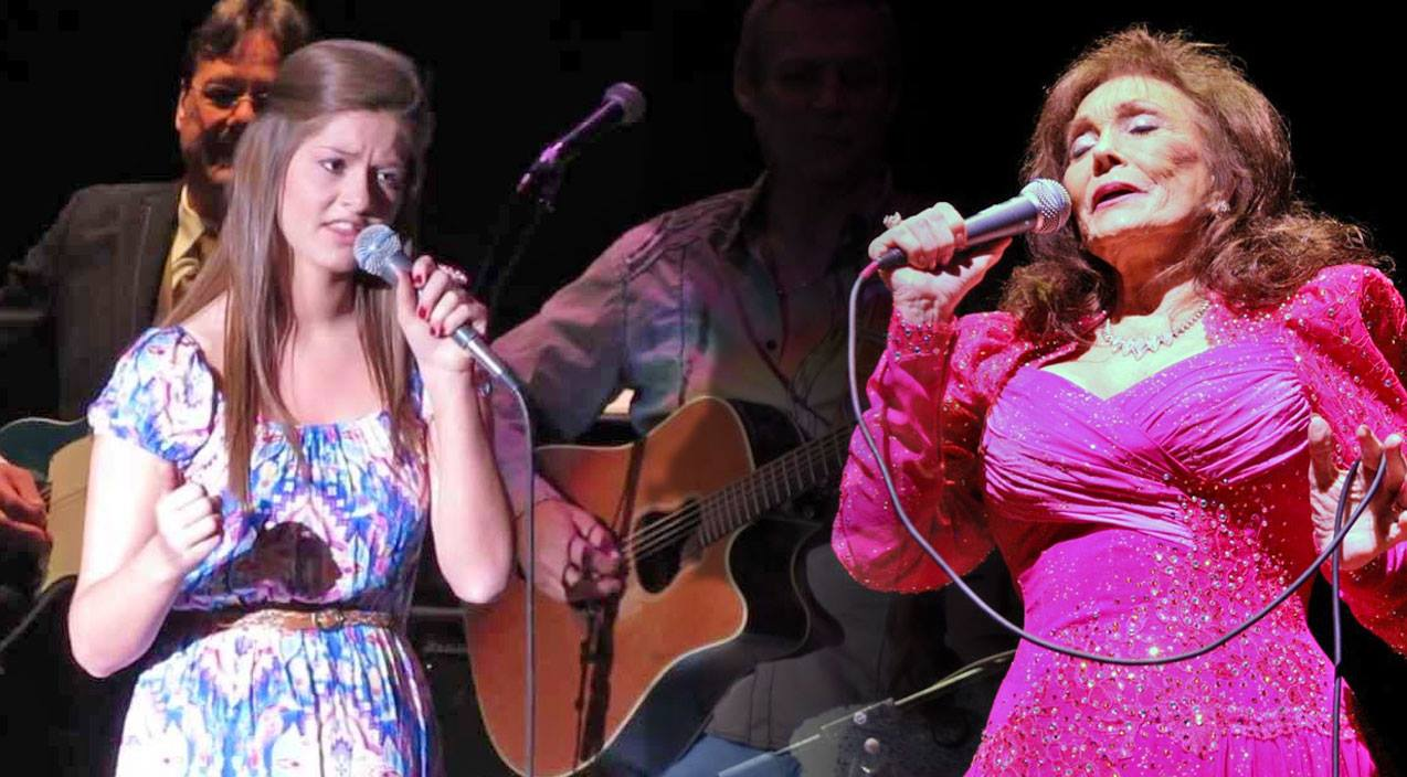 Sarah mccoart Songs | Loretta Lynn's Grand Niece Belts Out Incredible Cover Of 'Coal Miner's Daughter' | Country Music Videos