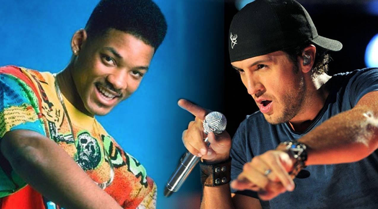 Luke bryan Songs | Luke Bryan Channels His Inner Rapper With 'Fresh Prince of Bel-Air' Theme | Country Music Videos