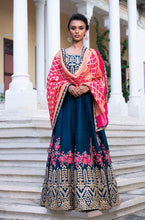 Load image into Gallery viewer, Lehenga With Gota Work And Gharchola Dupatta