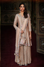 Load image into Gallery viewer, Dusty Rose Gold Sharara Suit Set