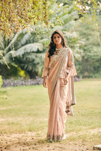 Load image into Gallery viewer, Nayabi Saree With Bell Sleeves