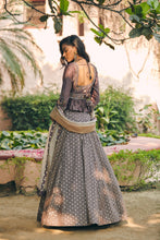 Load image into Gallery viewer, Neer Lehenga Set With Samsara Dupatta