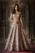 Load image into Gallery viewer, Svadhyaya Lehenga And Riwaaz Dupatta