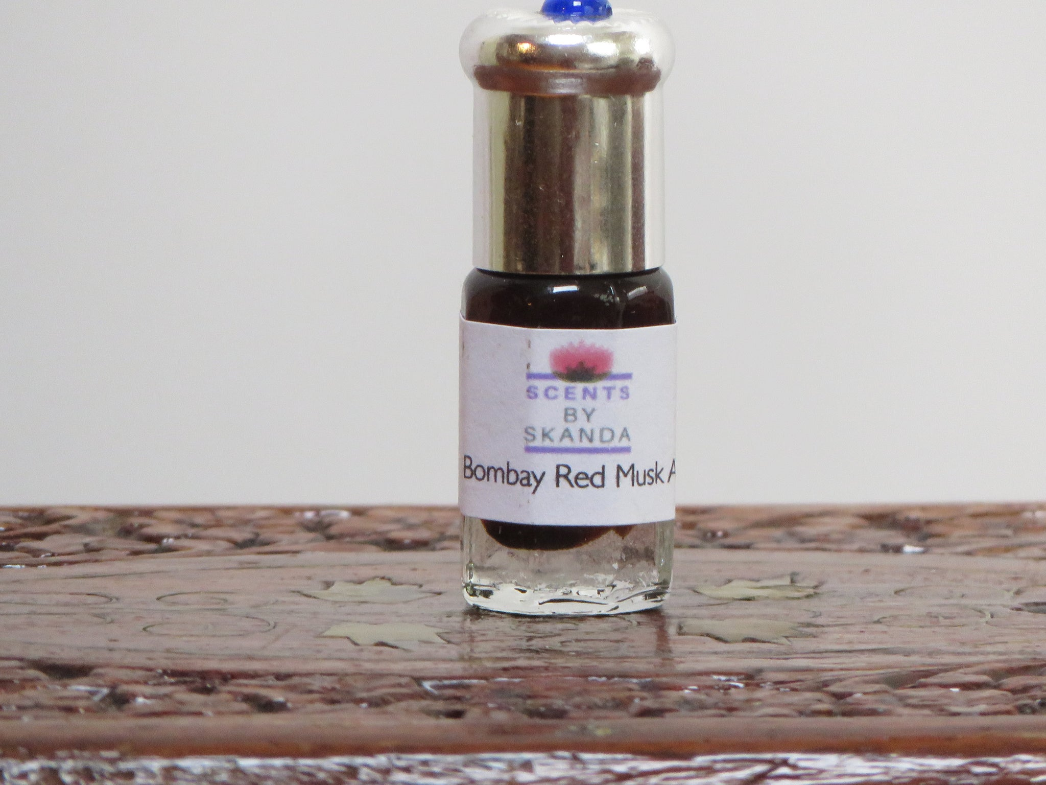 Bombay Red Musk- Attar fragrance - Sandalwood,Ambergris,Deer Musk