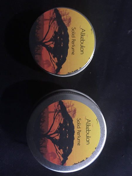 Alkebulan Tribute- solid perfume