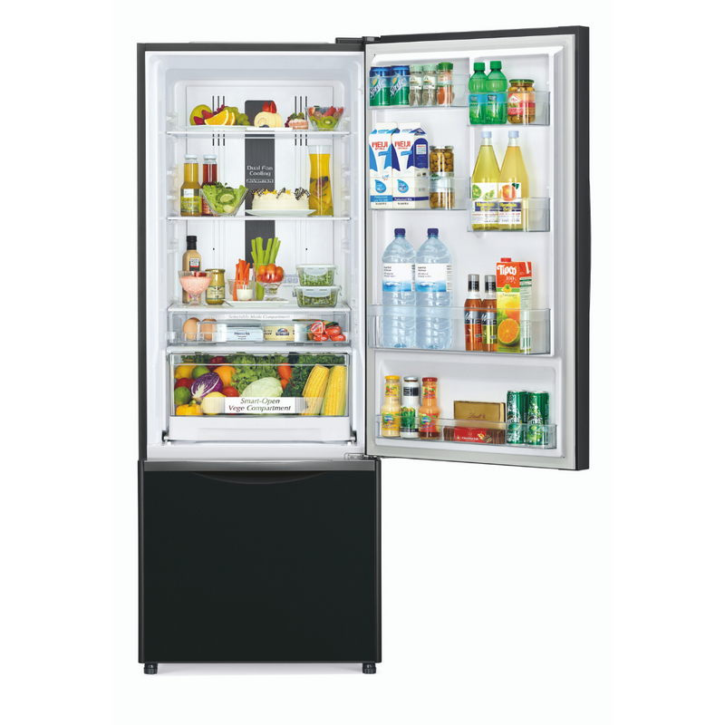 Hitachi 466L 2 Star Bottom Mounted Refrigerator R-B500PND6 (GBK)