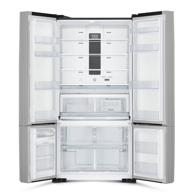 Hitachi 697L Multi Door Bottom Mounted Refrigerator R-WB800PND6X (XGR)
