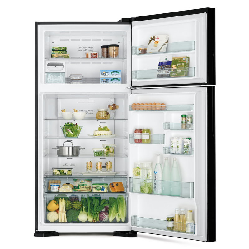 Hitachi 601L 2 Star Double Door Refrigerator R-VG660PND7 (GGR)