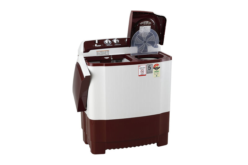 LG 7.0KG Semi-Automatic Washing Machine P7010RRAY