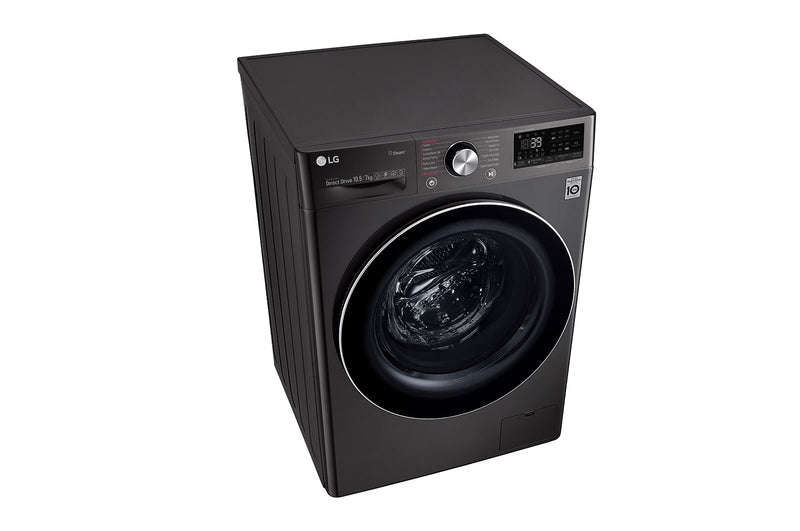 LG 10.5KG/7.0KG Fully Automatic Washer Dryer FHD1057STB