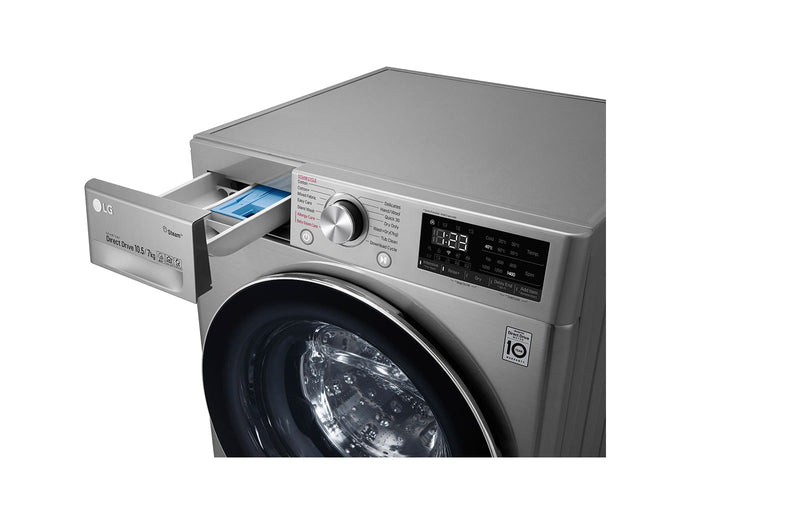 LG 10.5KG/7.0KG Fully Automatic Washer Dryer FHD1057SWS