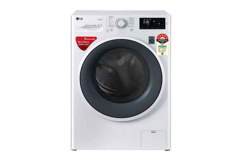 LG 6.0KG Fully Automatic Front Loading Washing Machine FHT1006ZNW
