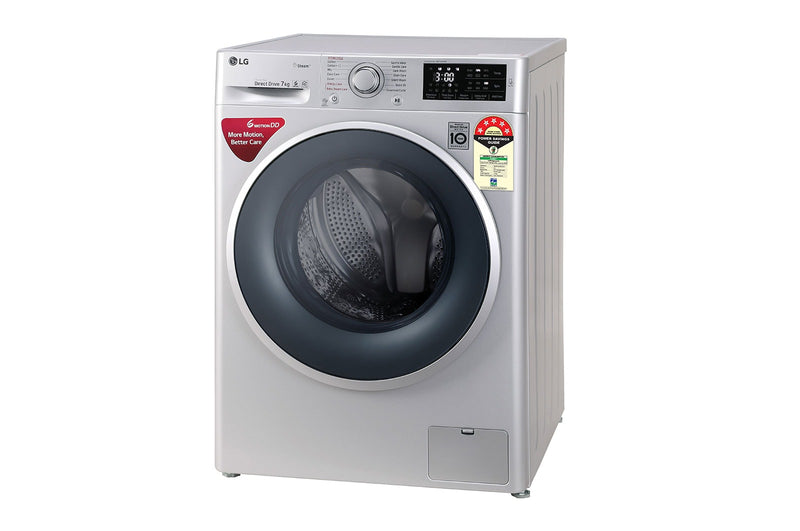 LG 7.0KG Fully Automatic Front Loading Washing Machine FHT1207ZNL