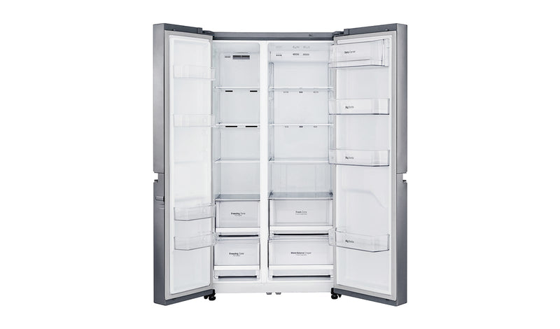 LG 687L Side By Side Refrigerator GC-B247SLUV