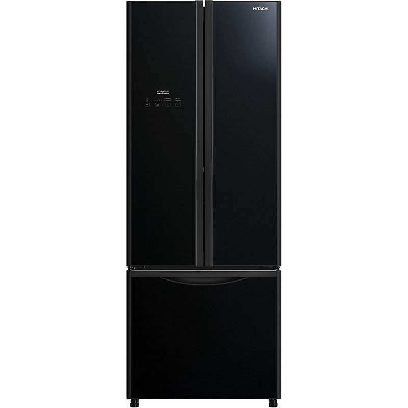 Hitachi 511L 3 Door Bottom Mounted Refrigerator R-WB560PND9 (GBK)