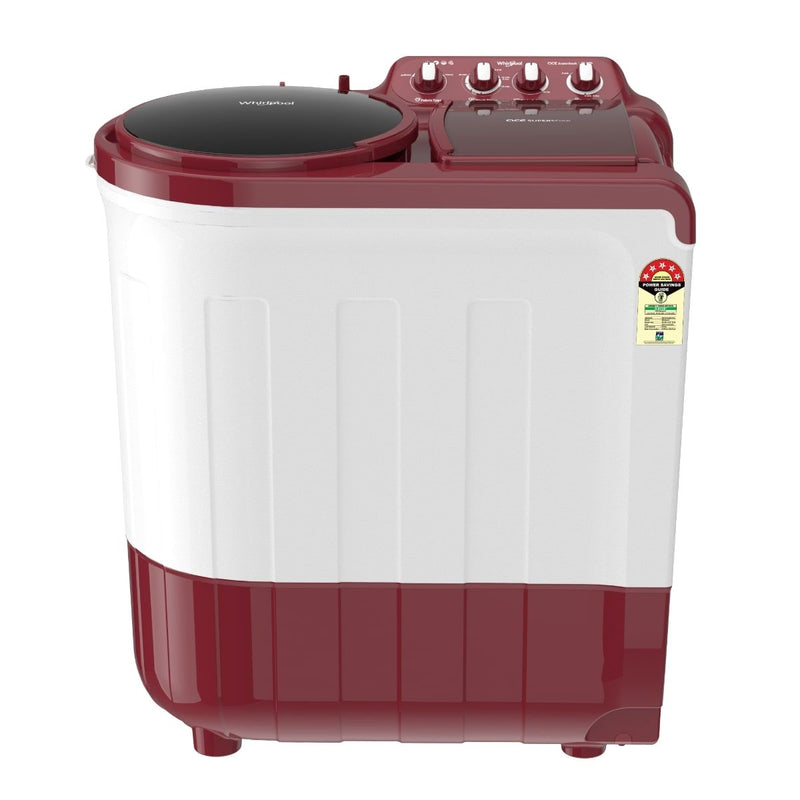 Whirlpool Ace 8.0KG SuperSoak Semi-Automatic Washing Machine (Coral Red)