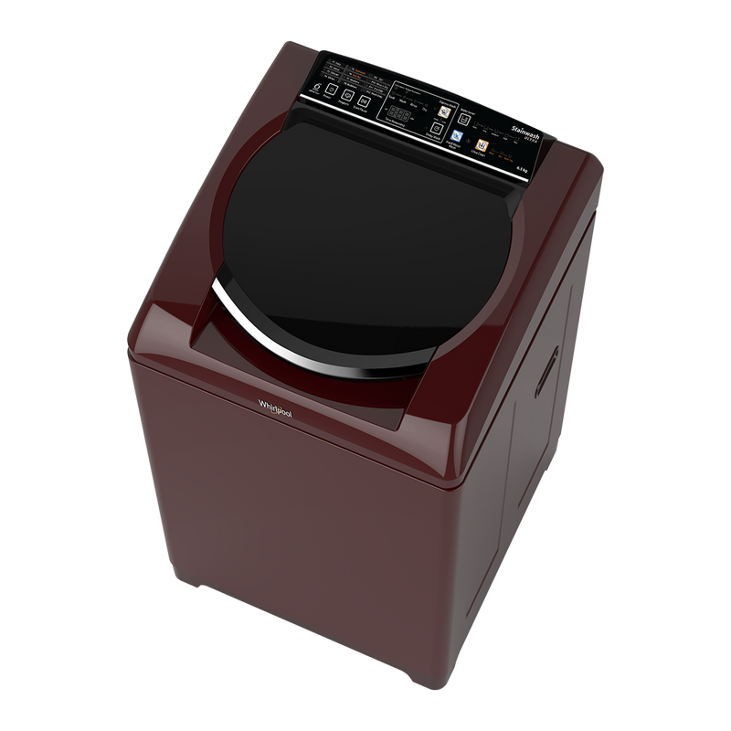 Whirlpool Stainwash Ultra 6.5KG Fully Automatic Top Loading Washing Machine (Wine)