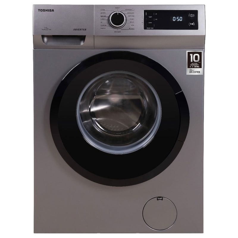 Toshiba 7.5KG Fully Automatic Front Loading Washing Machine TW-BJ85S2-IND