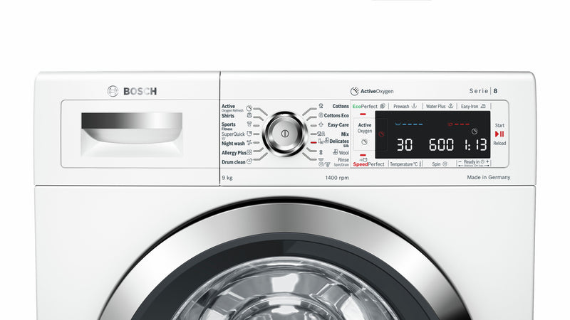 Bosch 9.0KG Fully Automatic Front Loading Washing Machine WAW28790IN