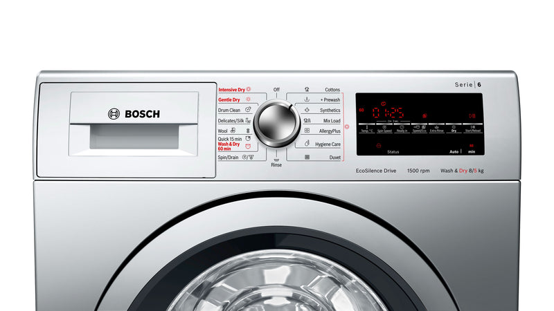 Bosch 8.0KG/5.0KG Fully Automatic Front Loading Washer Dryer WVG3046SIN