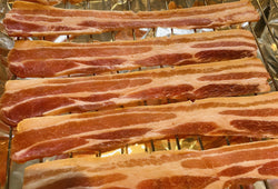 Dry Cured Smoked Streaky Bacon (500g)