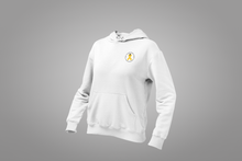 Load image into Gallery viewer, Hoodie - Circular Gold Ribbon Logo