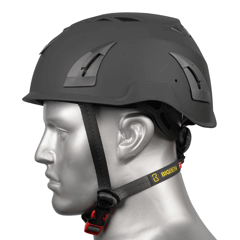 BIG BEN Ultralite Vented Height Safety Helmet, Black, PP-B-HH100VBK