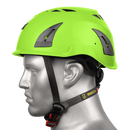 BIG BEN Ultralite Unvented Height Safety Helmet, Green, PP-B-HH100GR