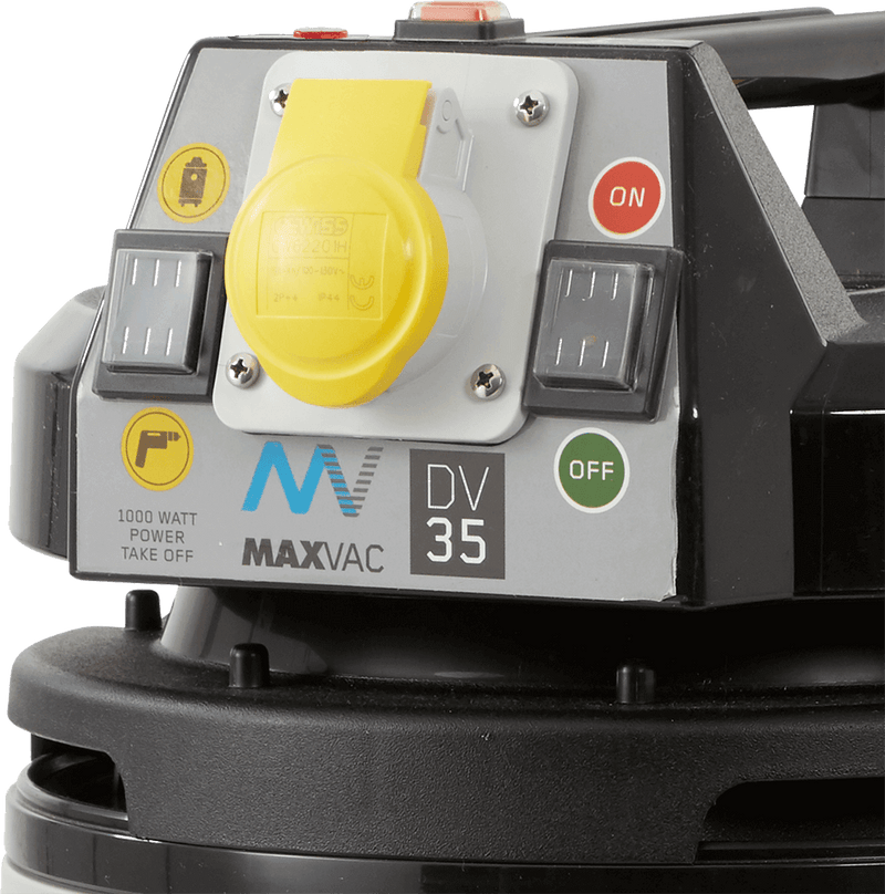 Certified M-Class 35Ltr Vacuum with Smart-Clean Filter Function, MAXVAC Dura DV35-MBA, DV-35-MBA-230