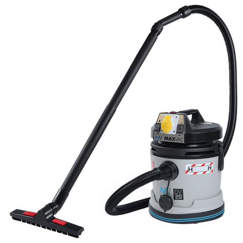 Certified H-Class 20L Vacuum with SMARTclean Filter Function - MAXVAC Dura DV20-HBA, MV-DV-20-HBA-110